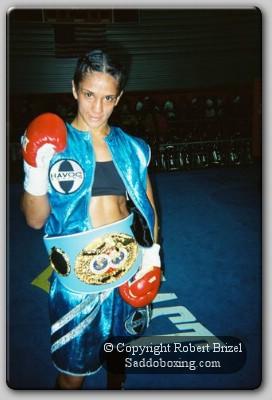 Amanda Serrano1 Amanda Serrano Wins IBF Title for Boxing 360 on Tribute Card