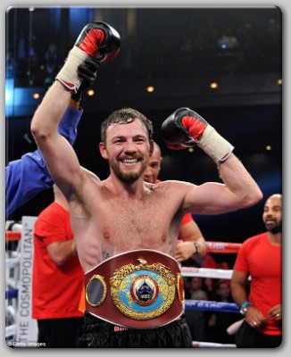 Andy Lee Wins Andy Lee Realizes World Title Dreams With Korobov KO