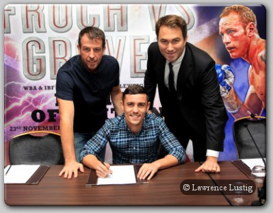 Anthony Crolla Matchroom Matchroom Sport Sign Contender Anthony Crolla