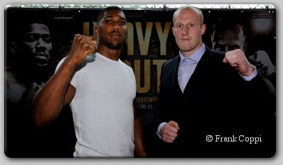 Anthony Joshua Gary Cornish Undefeated Heavyweights Joshua, Cornish Meet Face To Face