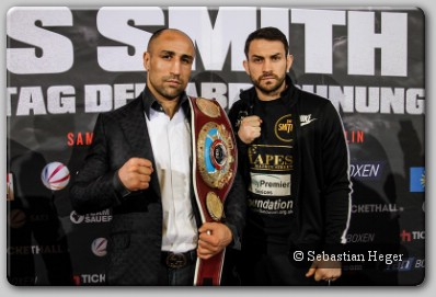 Arthur Abraham Paul Smith1 Paul Smith Claims To Have The Advantage For Abraham Rematch