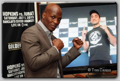 Bernard Hopkins Vs Karo Murat Bernard Hopkins Vs Karo Murat: Boxer Quotes