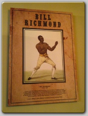 Bill Richmond Tribute To 18th Century Boxer Bill Richmond Unveiled In London