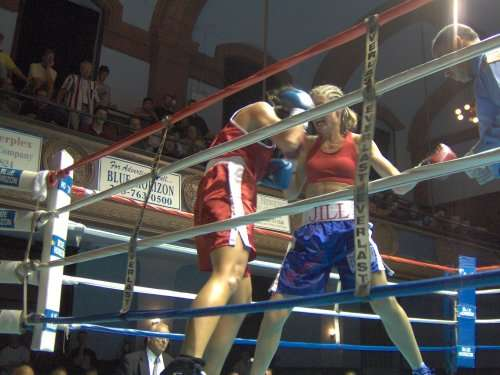 Ringside Boxing Report The Blue Horizon In Philadelphia