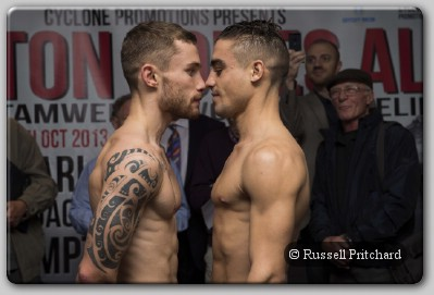 Carl Frampton Jeremy Parodi Carl Frampton Bashes Up Jeremy Parodi In Belfast