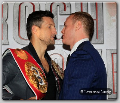 Carl Froch George Groves The Cobra vs. The Saint: Can The Upstart Pull Off The Upset?