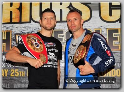 Carl Froch vs Mikkel Kessler Carl Froch, Mikkel Kessler In Massive Super Middleweight Rematch