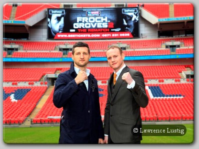 Carl Froch and George Groves Rematch 2
