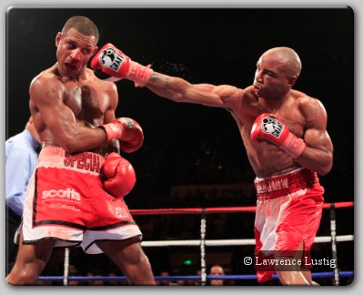 Carson Jones and Kell Brook Fight