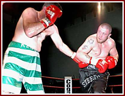 Colin Kenna Mickey Steeds boxing2 Ringside Boxing Report: Colin Kenna   Mickey Steeds