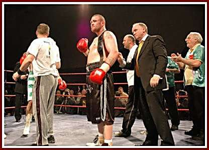 Colin Kenna Mickey Steeds boxing6 Ringside Boxing Report: Colin Kenna   Mickey Steeds