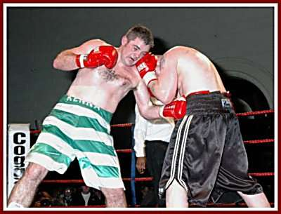 Colin Kenna Mickey Steeds boxing7 Ringside Boxing Report: Colin Kenna   Mickey Steeds