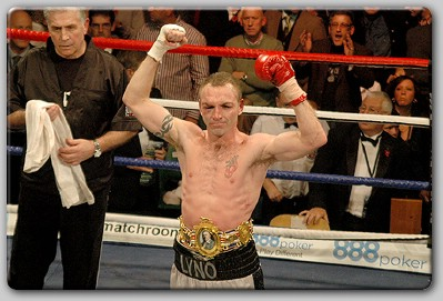 Colin Lynes Colin Lynes Returns To The Ring At Londons York Hall