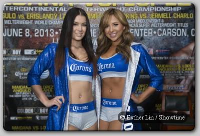 Corona Girls Maidana, Lopez, Lara, Angulo Ready To Go In California