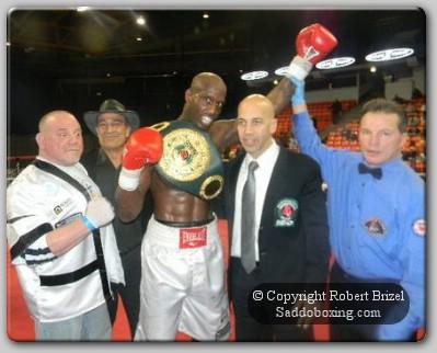 Davis Wins1 Carl Davis Wins USBO Cruiserweight Title