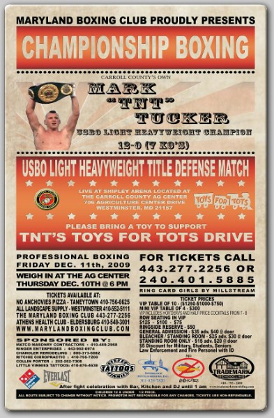 Toys For Tots Articles : Tnt boxing tucker vs armenta headlines quot s toys for