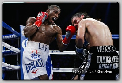 Erislandy Lara vs Alfredo Angulo Fight Maidana Outslugs Lopez In Thriller, Lara, Charlo Victorious