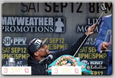 Floyd Mayweather Jr Selfie Would The Best Ever Really Face Andre Berto In A Last Bout?