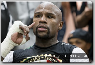 Floyd Mayweather call Floyd Mayweather Jr Talks About Manny Pacquiao Fight