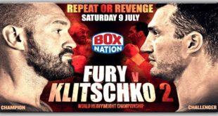 Tyson Fury Vs Wladimir Klitschko Rematch Boxnation Promo Image