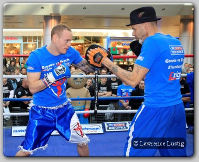 George Groves Training