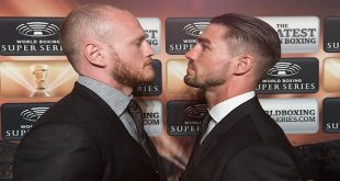 George Groves Vs Jamie Cox