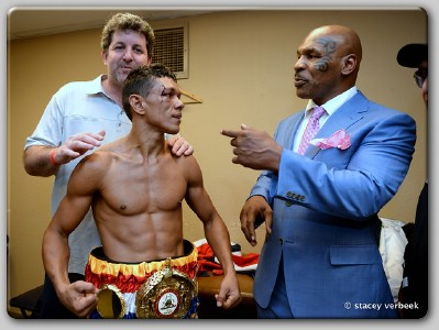 Juan Carlos Payano Mike Tyson Juan Carlos Payano Brings WBA Title Back To America