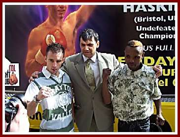 Lee Haskins Zolile Mbityi3 Boxing Press Conference: Lee Haskins   Zolile Mbityi