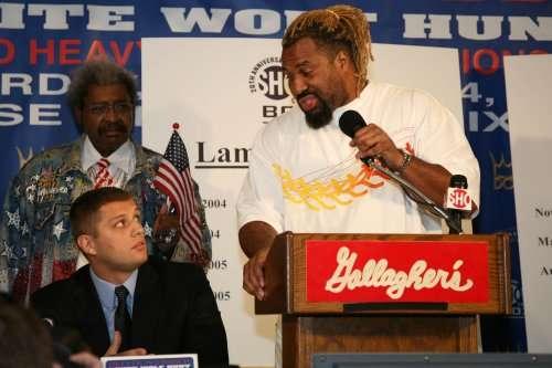 Boxing Press Conference Sergei Liakhovich Shannon Briggs