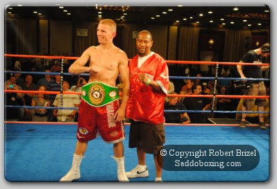 MajewskiNABF1 Patrick Majewski, Heart of Poland, Wins NABF Middleweight Title