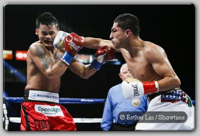 Marcos Maidana Josesito Lopez Fight Maidana Outslugs Lopez In Thriller, Lara, Charlo Victorious