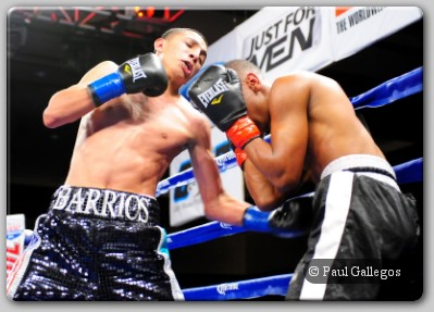 Mario Barrios Towering Featherweight Phenom Barrios Returns To Ring
