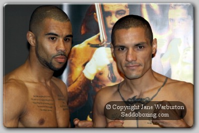 MunroeTerrazas weighin1 Weights and Photos: Rendall Munroe Vs Victor Terrazas