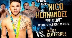 Patrick Gutierrez vs Nico Hernandez