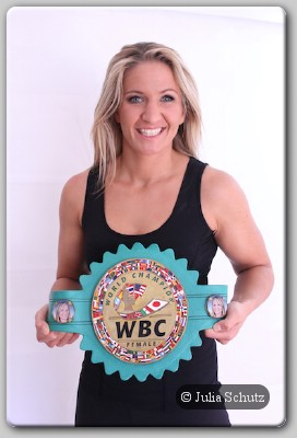 Nikki Adler WBC WBC Female Champion Nikki Adler Back In The Ring