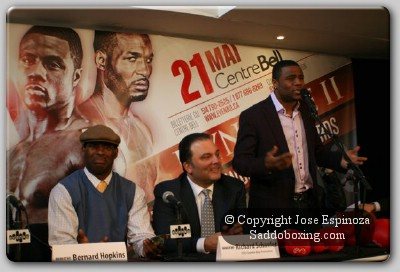 PascalvsHopkin11 Boxing Audio: Pascal vs. Hopkins Montreal Press Conference