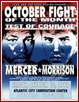 Ray Mercer Tommy Morrision Boxing History: Ray Mercer   Tommy Morrison