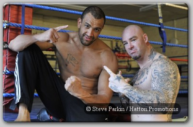 Richard Towers and Lucas Browne
