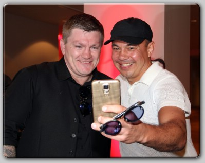 Ricky Hatton Kostya Tszyu Selfie Old Foes Ricky Hatton, Kostya Tszyu Reunite Down Under