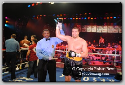 Rossy Wins1 Heavyweight Derric Rossy Wins His Comeback