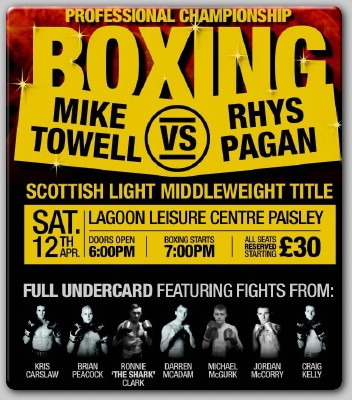 Saltire Boxing Promoter Bellshaw Looking Forward To Paisley Shoe
