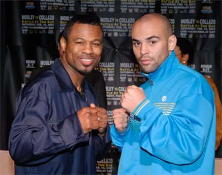 Sugar Shane Mosley Vs Luis Collazo