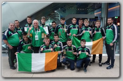 Team Ireland European Juniors Irish Squad Comes Back From Lviv Laden With Medals