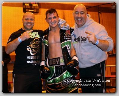 Team Jenkinson Artif Ali Vs Bobby Jenkinson Ringside Boxing