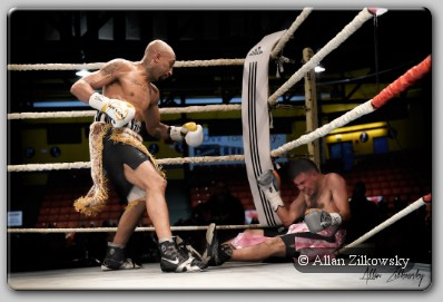 Tyson Cave Cave KO's Rojas To Secure World Boxing Union Crown