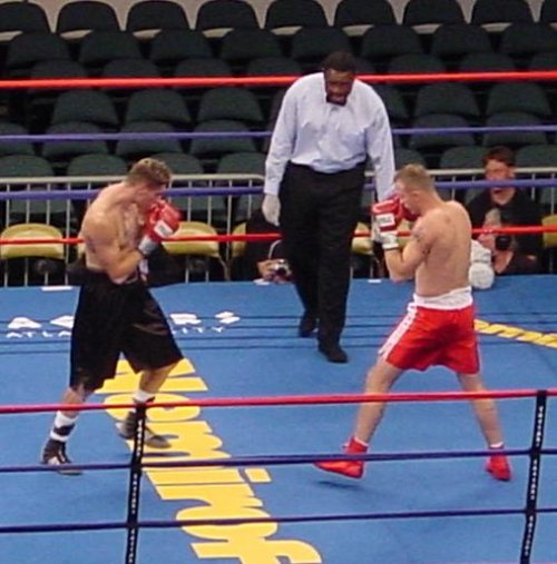 Peter Undercard Boxing Action