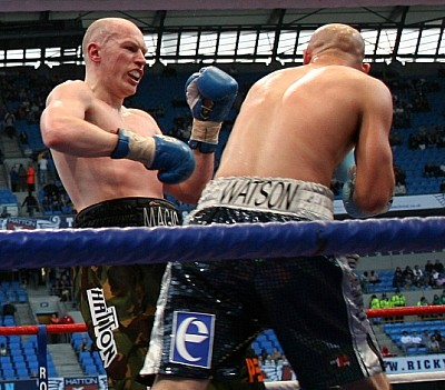 Watson Hatton61 Ringside Boxing Report: Craig Watson Vs. Matthew Hatton