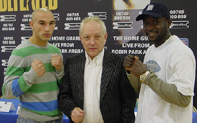 Watson Nuumbembe Boxing Press Conference Audio: Four Title Fight Wigan Show