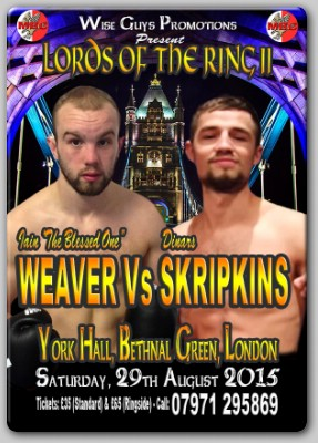 WeaverSkripkinsPoster Weaver Back In The UK, Faces Latvian Hurdle Saturday