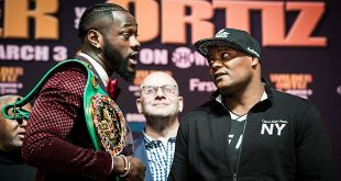 Wilder, Ortiz Face Off